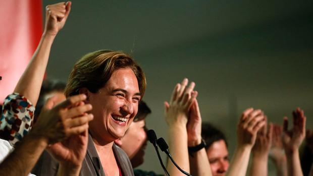 The new activist mayor of Barcelona, Ada Colau